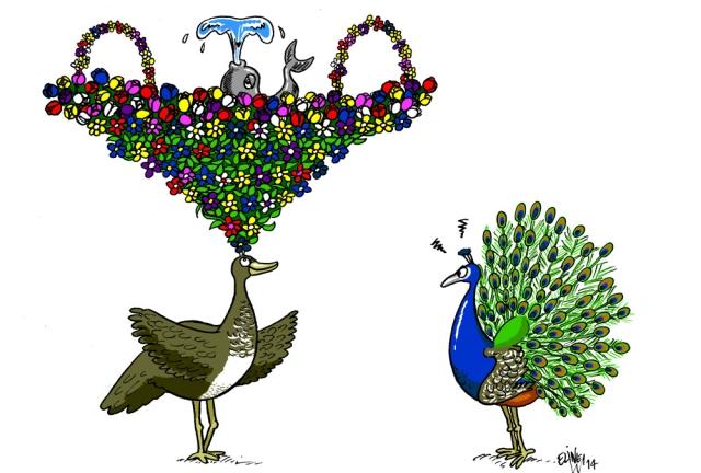 Mrs Peacock